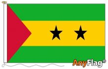 SAO TOME AND PRINCIPE  ANYFLAG RANGE - VARIOUS SIZES